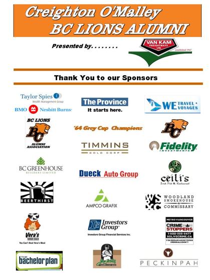 bc lions alumni sponsors